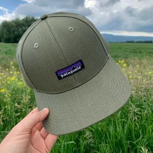 NWT Patagonia Hemp Logo Hat - Green